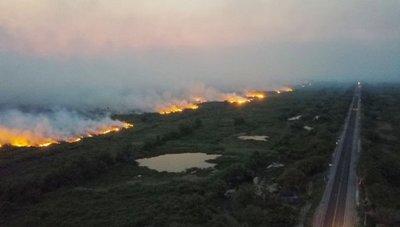 El Pantanal brasileño registra más de 2.500 incendios en tan solo 14 días