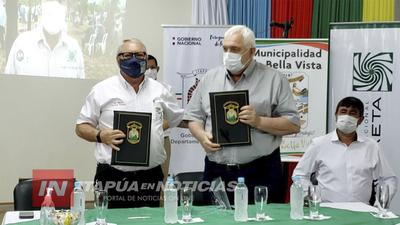 GOBERNACIÓN SUSCRIBIÓ CONVENIO CON EL CENTRO YERBATERO PARAGUAYO