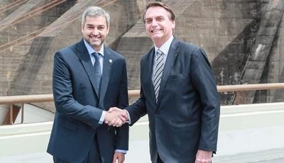 Presidente agradeció a Bolsonaro por acompañar reactivación del comercio en ciudades fronterizas