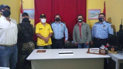 Bomberos trabajarán con resguardo policial en la reserva Caazapá