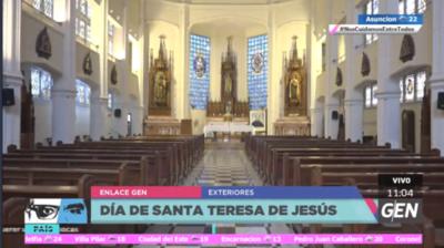 HOY / Hoy se conmemora el Día de Santa Teresa de Jesús