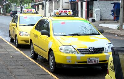 Ni de noche ni feriados: Taxis de Lambaré eliminan recargo del 30%
