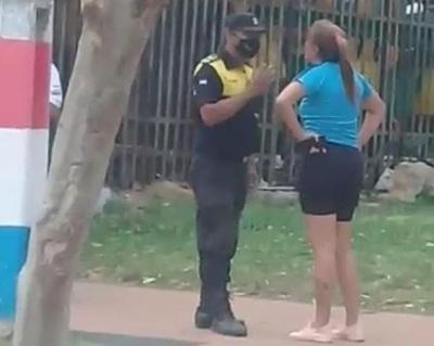 Agente de tránsito que protagonizó incidente en Capiatá podría ser sancionada