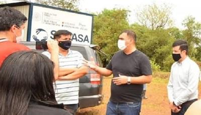 Caazapá: Nuevo pozo artesiano beneficiará a más de 150 familias