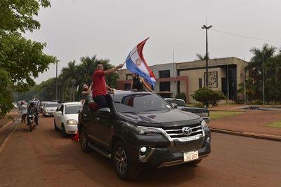 Autoconvocados respaldan auditoría de Contraloría en Minga Guazú