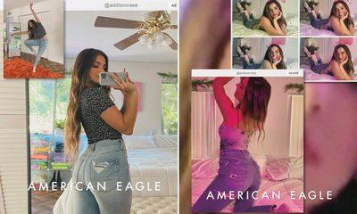 Look renovado en American Eagle con Banco Atlas