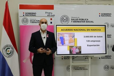 """Covid: """"Paraguay tiene un aumento desacelerado de casos"""", dice Mazzoleni"""