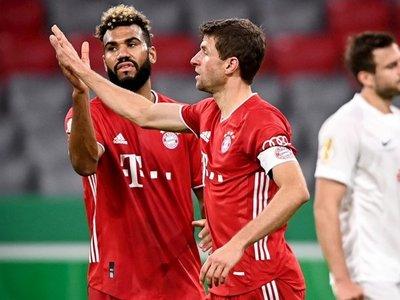 """El Bayern exhibe su """"fondo de armario"""" ante el modesto Düren"""