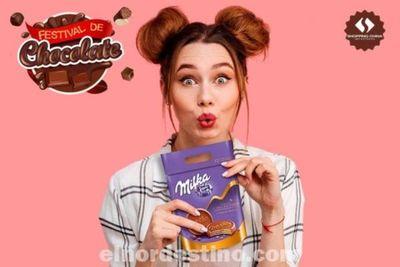 Festival de Chocolate con marcas importadas de primera línea en Shopping China de Pedro Juan Caballero