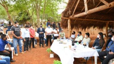 Brindarán apoyo para la agricultura familiar indígena