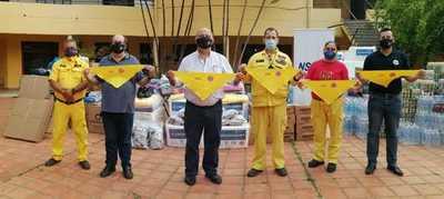 Exitosa campaña de Paraguayo Como Vos Solidario para ayudar a bomberos