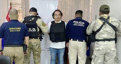 El Presidente expulsó del Paraguay al contrabandista brasileño más buscado