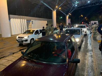 Evaluación positiva del primer día de reapertura de frontera con Brasil