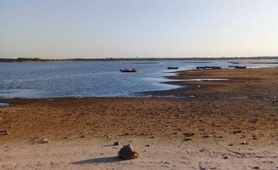 Tras lluvias, río Paraguay por fin registró suba