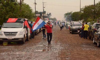 La ciudadanía de Minga Guazú se moviliza y exige castigo a los robos de Digno Caballero – Diario TNPRESS