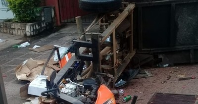 La Nación / Reciclador falleció tras ser atropellado y el responsable se dio a la fuga