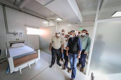 Gobierno incorpora más camas en hospital de Pedro Juan Caballero para atender cuadros respiratorios