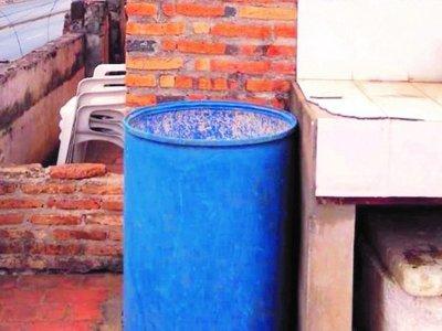 Un akãrasy infernal a causa de la falta de agua potable