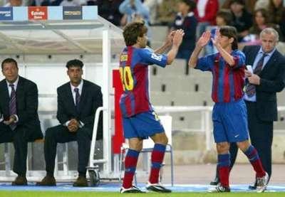 Se cumplen 16 años del debut de Messi en Barcelona