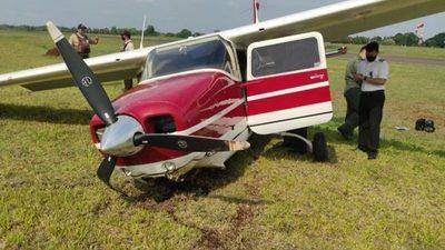 Ministra de Justicia sufre accidente aéreo en CDE