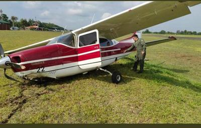 Avioneta que trasladaba a ministra de Justicia sufre accidente