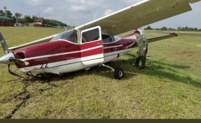 Ministra de Justicia sufre accidente aéreo en pista de la Itaipu