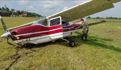 Percance en avioneta donde iba ministra durante aterrizaje en Alto Paraná