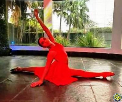 Niña obtuvo primer puesto en concurso virtual de baile •