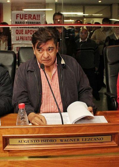 """Augusto Wagner: """"¿Por qué tengo que renunciar? Yo no soy funcionario municipal"""""""