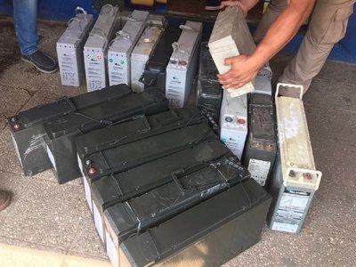 Allanan local tras hurto de baterías del sistema de internet de telefonía