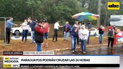 Paraguayos podrán cruzar el Puente de la Amistad las 24 horas