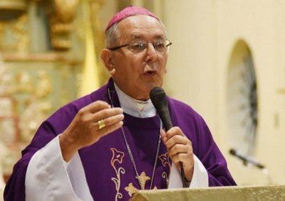 """Monseñor Edmundo Valenzuela: """"Ya no tengo ningún síntoma del Covid"""""""