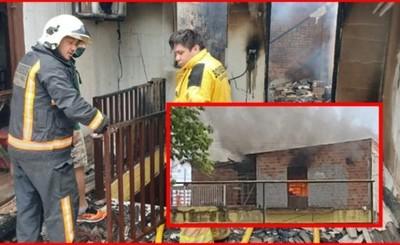 Incendio consume 3 habitaciones de un departamento