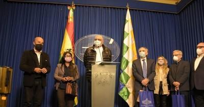 La Nación / Referentes de cuestionado Frente Guasu participan en observación electoral en Bolivia