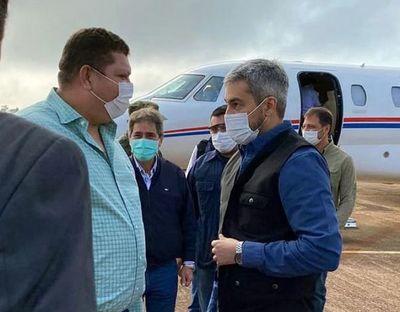 Diputado Acosta acompaño esta mañana a Marito en la inauguración del pabellón de contingencia del Hospital Regional