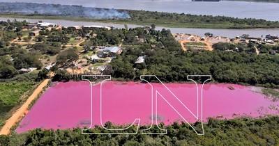 La Nación / Atención DiCaprio: sequía afecta a Laguna Cerro