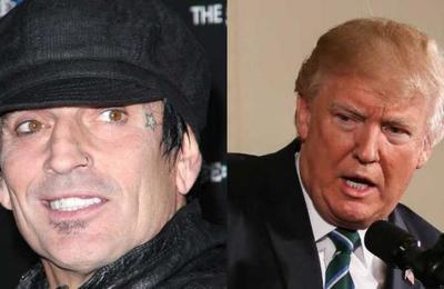 Tommy Lee dice que se irá de Estados Unidos si Donald Trump es reelegido
