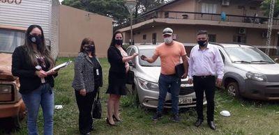 Vehículo robado en Brasil fue restituido a su dueño vía consulado