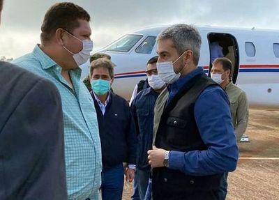 """Diputado Juancho Acosta: """"Mario Abdo Benítez es el mejor presidente de todos los tiempos para el Amambay"""""""