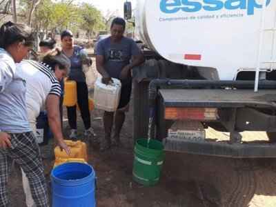 Essap exoneró facturas de agua por G. 17.240 millones