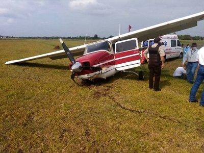 Ministra se recupera tras percance aéreo