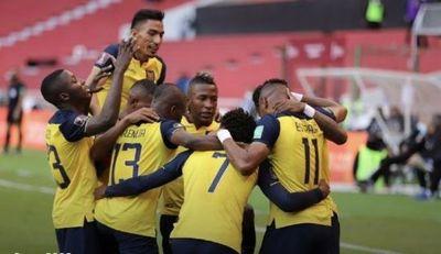 Ecuador le da un golpazo a Uruguay