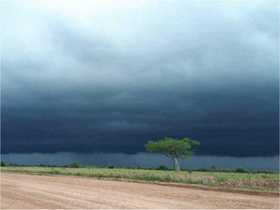 Sistema de tormentas afectará Chaco y departamentos de la Región Oriental
