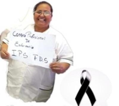 Fallece otra enfermera por coronavirus