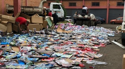 Destruyen juguetes falsificados por valor de USD 300.000