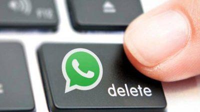 WhatsApp: ¿Cómo eliminar tus mensajes después de horas o días?