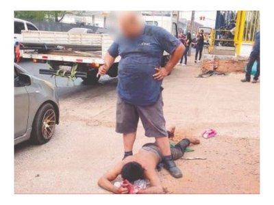 Ladrón atrapado por conductor tiene prisión domiciliaria