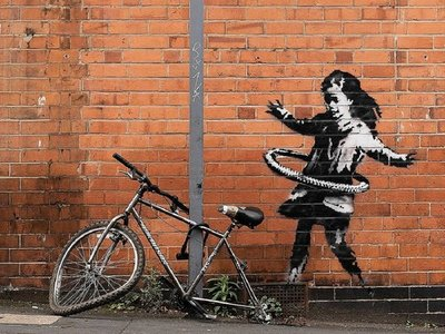 Banksy admite la autoría de un mural aparecido en Nottingham