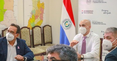 Coronavirus en San Lorenzo: Quiñonez se reunió con Mazzoleni