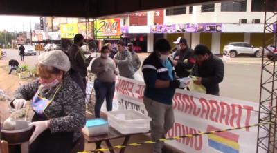 Ollas populares en Encarnación: ya sirvieron más de 25.000 platos